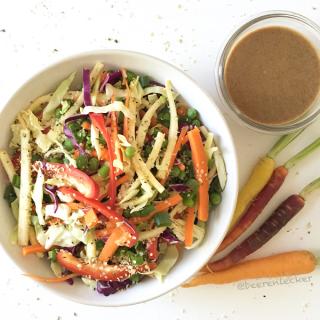 Asiatischer Frühlingssalat (Vegan)