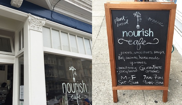 Nourish Cafe San Francisco
