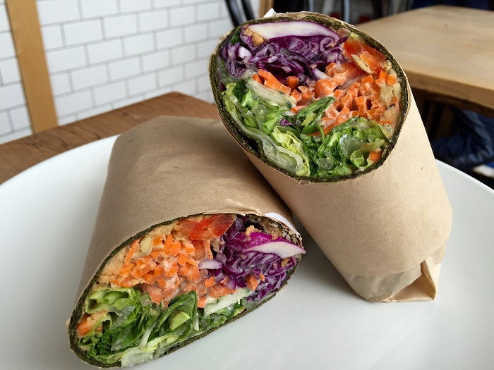 San Francisco's beste vegane Restaurants - Nourish Cafe