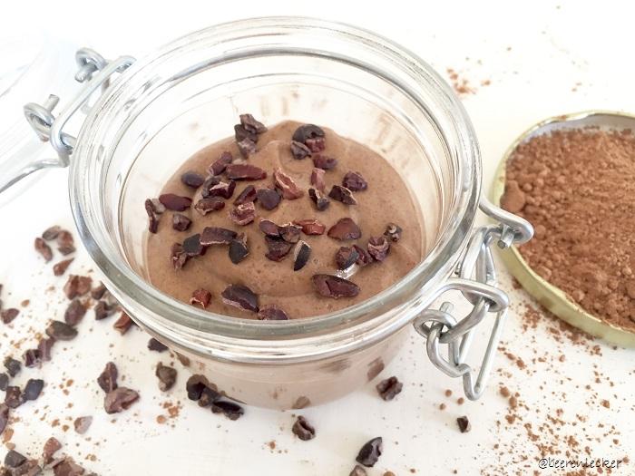 Schokoladen Chia Pudding