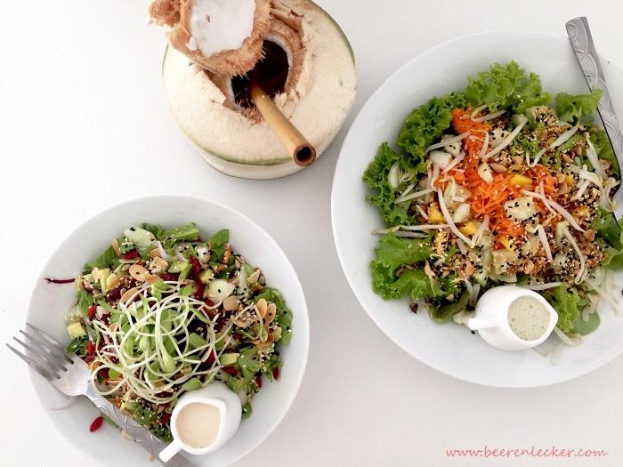 Vegan Essen Koh Tao Thailand