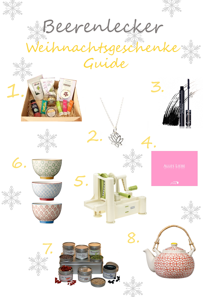 last minute weihnachtsgeschenke guide beerenlecker. Black Bedroom Furniture Sets. Home Design Ideas