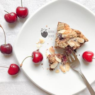 Veganer Kirsch Schoko Kuchen zur Sommersaison