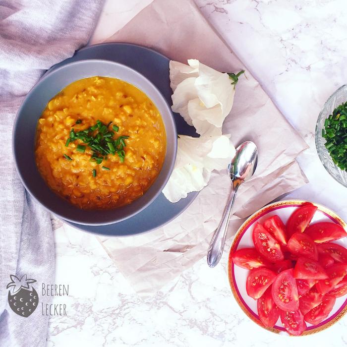 Dal aus Gelben Erbsen - ein veganes Rezept aus Sri Lanka